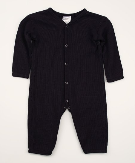 Indigo Organic Thermal Playsuit - Infant