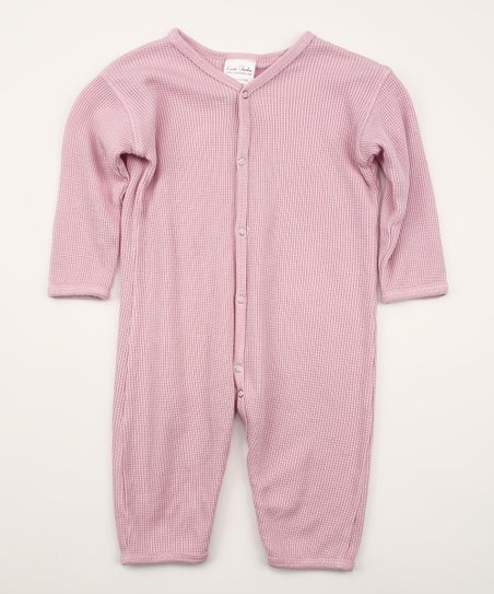 Spicy Pink Organic Thermal Playsuit
