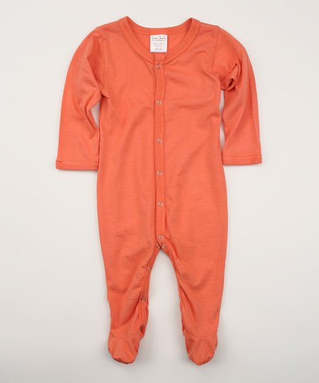 Sunset Organic Footie - Infant