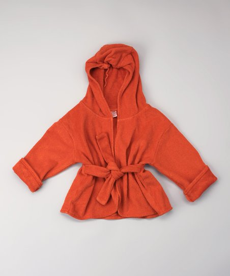 Smokey Red Organic Robe