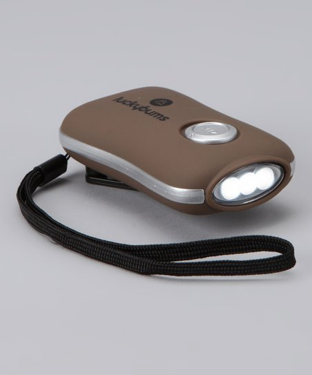 Brown Dynamo Flashlight