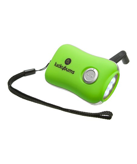 Kelly Green Dynamo Flashlight
