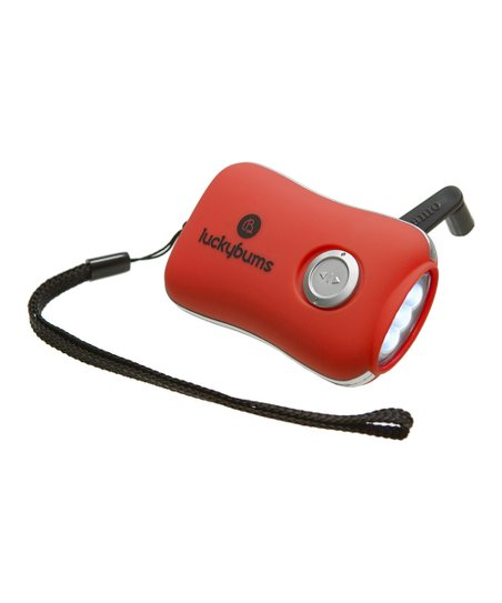 Red Dynamo Flashlight