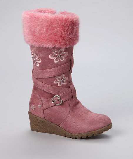 Lucky Top Mauve Pure Boot