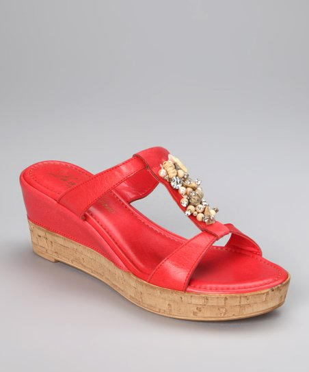 Coral Resort T-Strap Slide