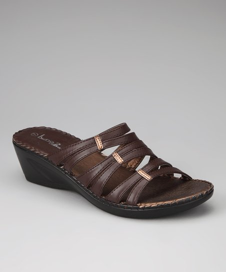 Brown Lady 11 Wedge Sandal