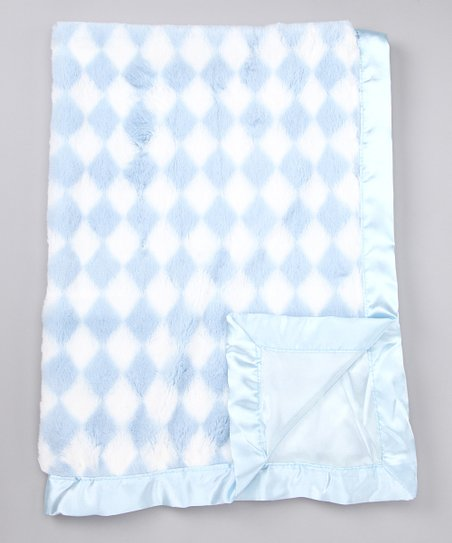 Blue Diamond Plush Blanket