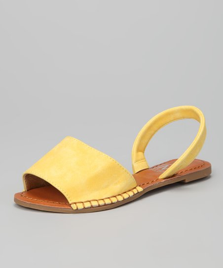 Yellow Joy 1K Sandal