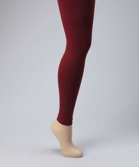 Burgundy Leggings Set