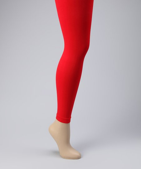 Red Leggings Set