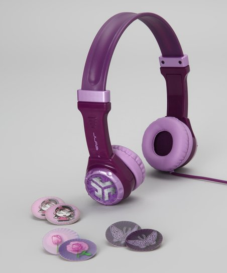 Purple JBuddies Youth Headphones