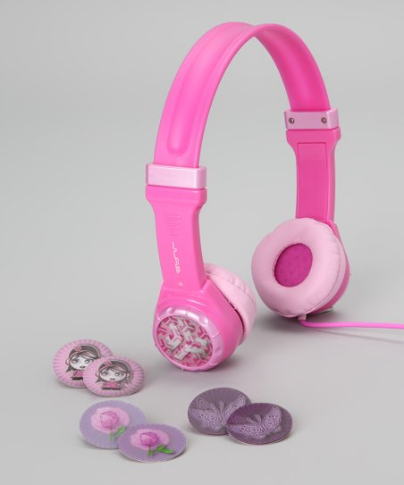 Pink JBuddies Youth Headphones