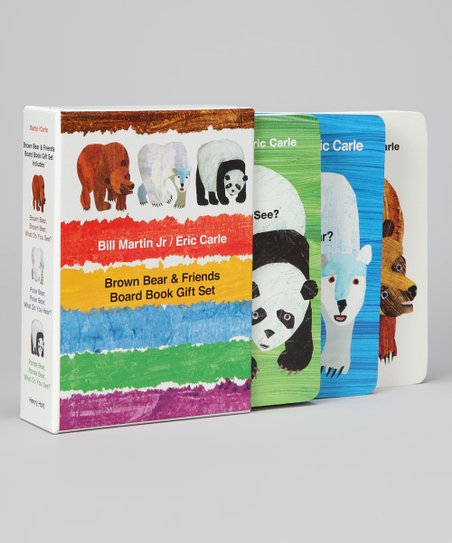 Brown Bear & Friends Board Book Boxed Set