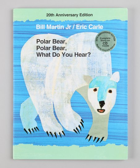 Polar Bear, Polar Bear, What Do You Hear? Hardcover & CD