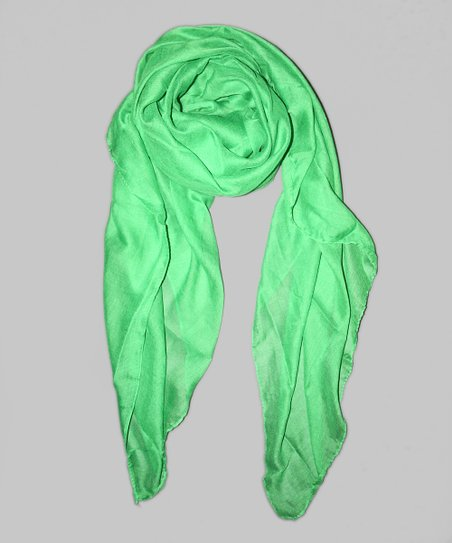 Madeleine Kelly Green Central Park Scarf