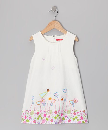 Di Vani White Garden Dress