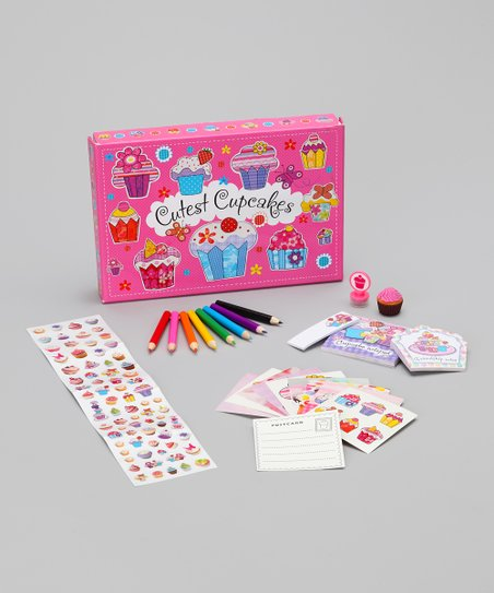 Cutest Cupcake Stationery Box Set