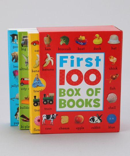 First 100 Box of Books Set