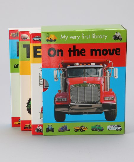 My Very First Library: On the Move Hardcover Set