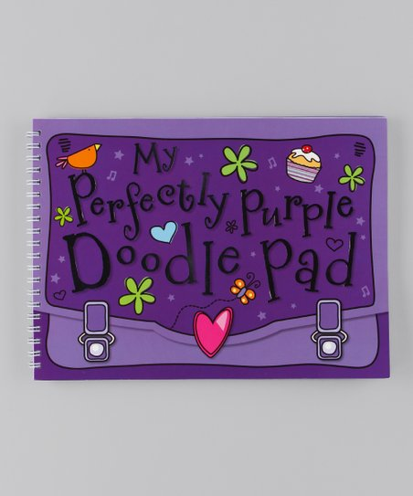My Perfectly Purple Doodle Pad Paperback