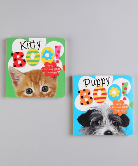 Kitty Boo! & Puppy Boo! Board Books
