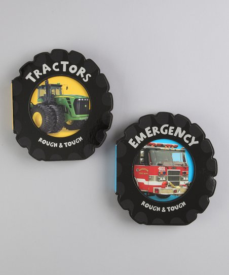 Emergency & Tractors Board Books
