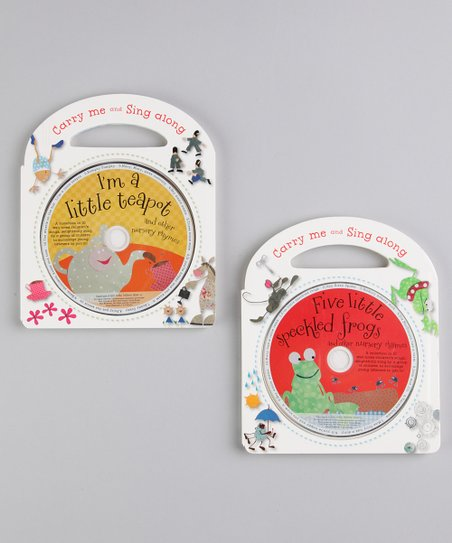 Five Little Speckled Frogs & I'm a Little Teapot Board Book Set