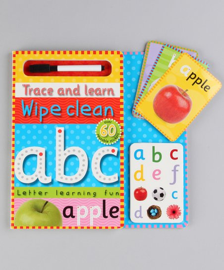 Trace &amp; Learn Wipe Clean ABC Set