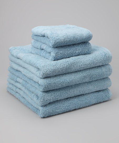 Blue Home Collection Towel Set