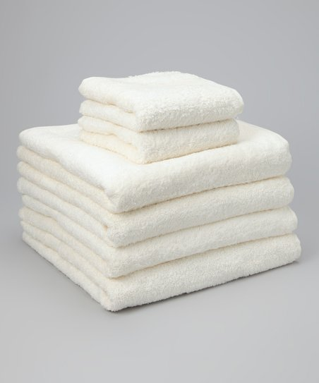 Ivory Home Collection Towel Set