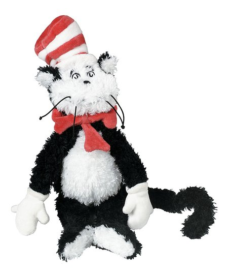 Manhattan Toy Dr. Seuss Cat in the Hat Plush Toy