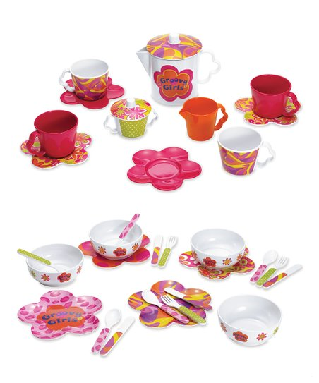 Groovy Girls Tea & Dinner Set
