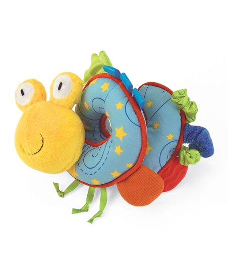 Snuggly Space Friends Alien Spiral Plush Toy