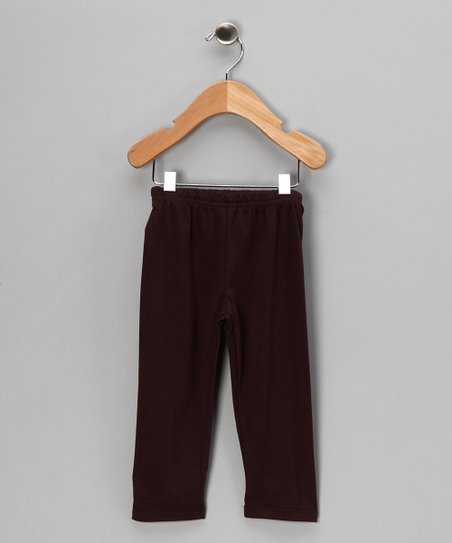 Brown Leggings - Toddler & Girls