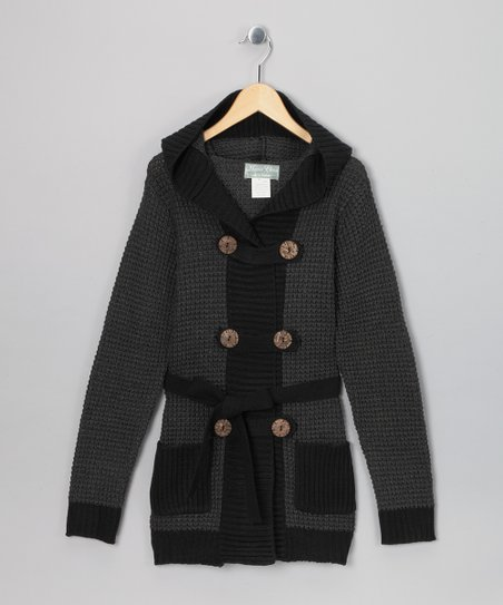 Charcoal Eva Duster - Girls