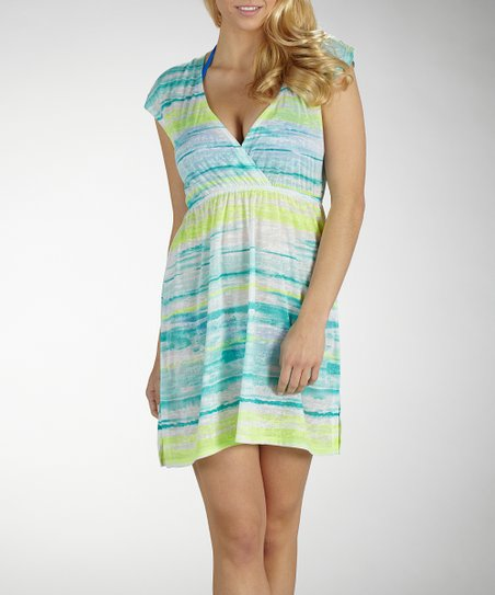 Cerulean Bondi Sleeveless Cover-Up