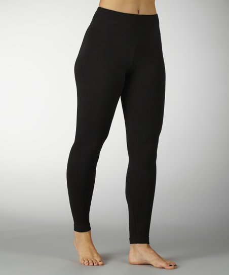 Black Sanded Dry-Wik Leggings