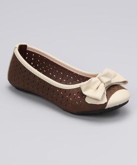 Brown Angie Ballet Flat