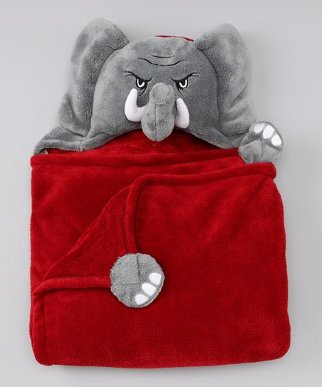 MascotWear Alabama Crimson Tide Hooded Blanket