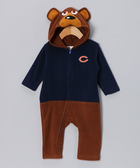 Chicago Bears Fleece Playsuit - Kids