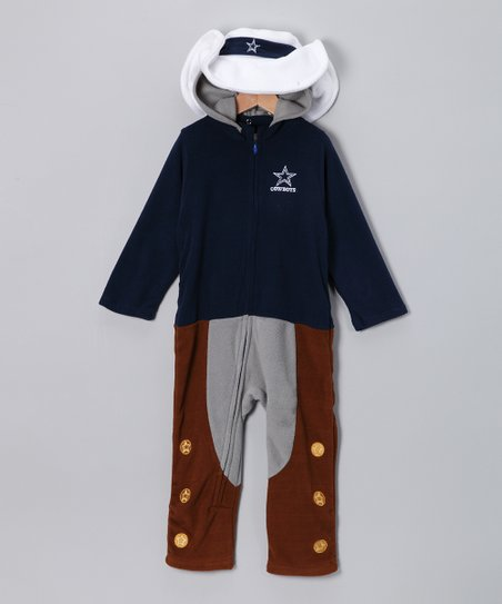 Dallas Cowboys Fleece Playsuit - Toddler