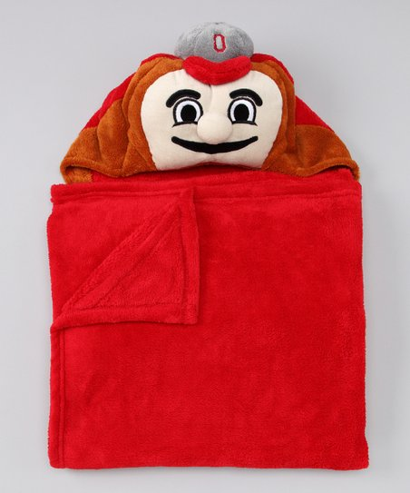 MascotWear Ohio State Buckeyes Hooded Blanket
