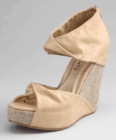 Natural Marni Wedge
