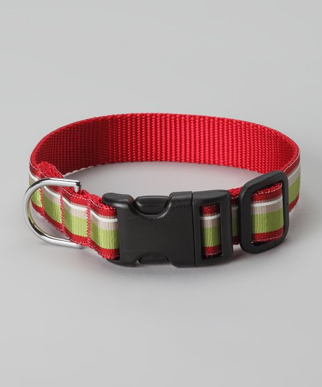 Max & Zoey Red Vixen Dog Collar