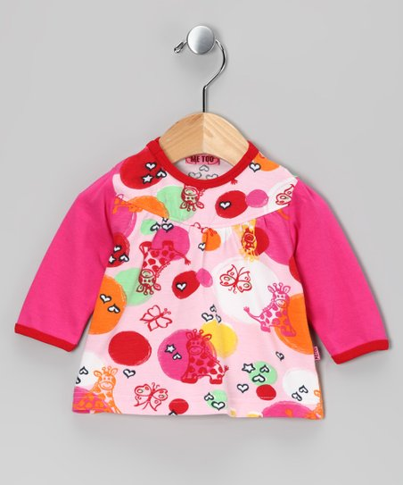 Fuchsia & Purple Tika Top - Infant