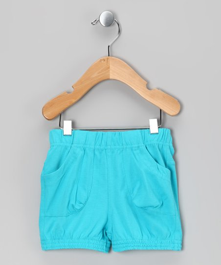 Scuba Blue Shelly Shorts - Infant