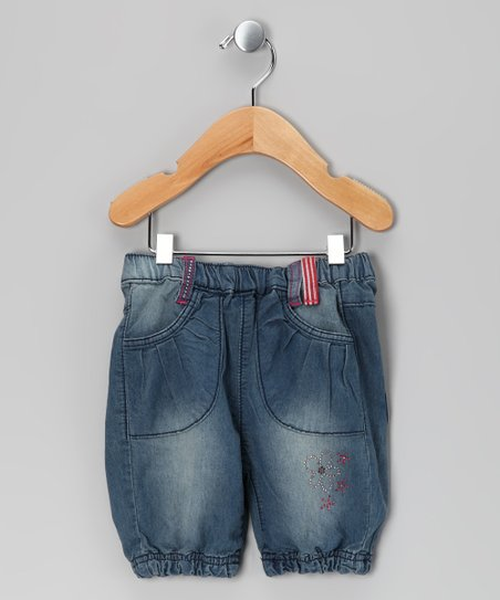 Light Blue Denim Sera Shorts - Infant, Toddler &amp; Girls