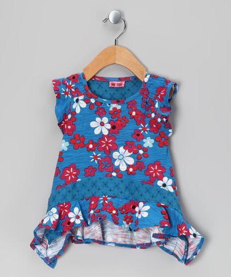 French Blue Tulla Tunic - Infant & Toddler