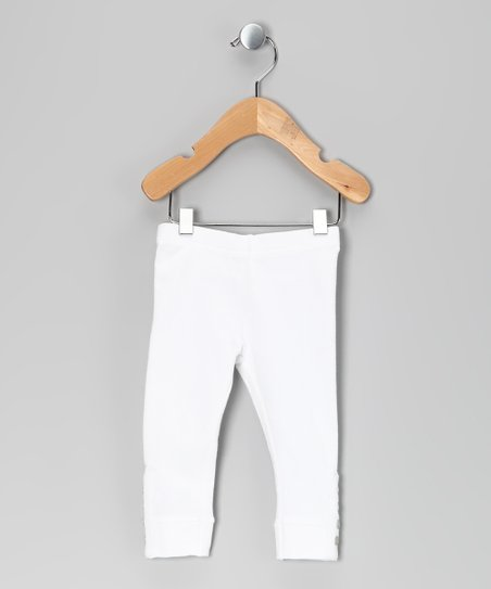 Bright White Gelippa Leggings - Infant