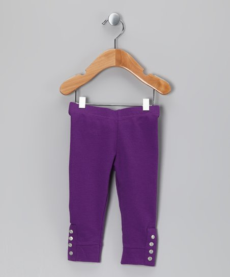 Hyper Button Gelippa Leggings - Infant & Girls
